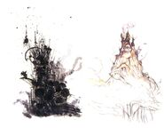 Kefka's Tower Sketches