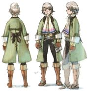 Arc FFIII DS Yoshida Art