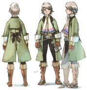 Arc FFIII DS Yoshida Art