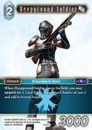 Deepground Soldier 3-042C from FFTCG Opus