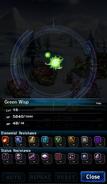 FFBE Green Wisp Analyze 2