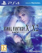 FFX-X-2 HD Remaster PS4 EU Cover