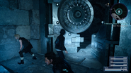 Menace Sleeps in the Grotto from FFXV