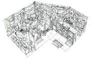 Midgar Wallmarket FF7 Art 6