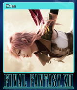 FFXIII Steam Card Eden