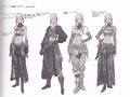 FFXIV ARR Minfilia attire concept