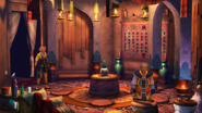 FFX HD Besaid Temple Monks' Chamber