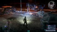 Omega laser attack from FFXVRE