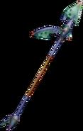 Partisan from FFIX weapon render