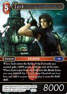 Zack 3-012L from FFTCG Opus