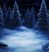 FFBE Snowy Woods BG