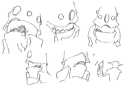 Fungus face concept 2 for Final Fantasy Unlimited