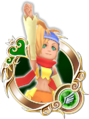 KHUX Rikku 5★ Medal