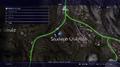 Saxham Lake rainbow frog map from FFXV