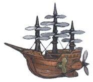 Airship Minion FFXIV Art