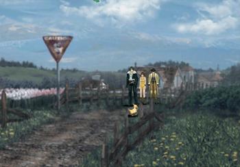 Chocobo crossing