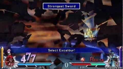Dissidia 012 Duodecim Final Fantasy - Gilgamesh's EX Burst Strongest Sword (English)
