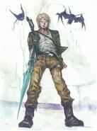 FFBE - Jake - Amano artwork