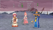 FFIV TAY Steam Level up Pose White Mage