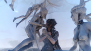 Noctis-with-Shiva-FFXV