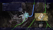 Scraps of Mystery XI Lestallum map from FFXV
