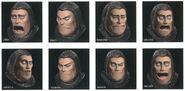 Steiner CG Faces FFIX Art