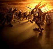 War of the Lions Artwork
