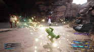 Cactuar summon from FFVII Remake