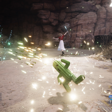 Cactuar summon from FFVII Remake.png
