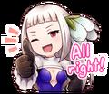 LINE Magnolia Sticker4