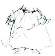 Quina FFIX Rough Sketch