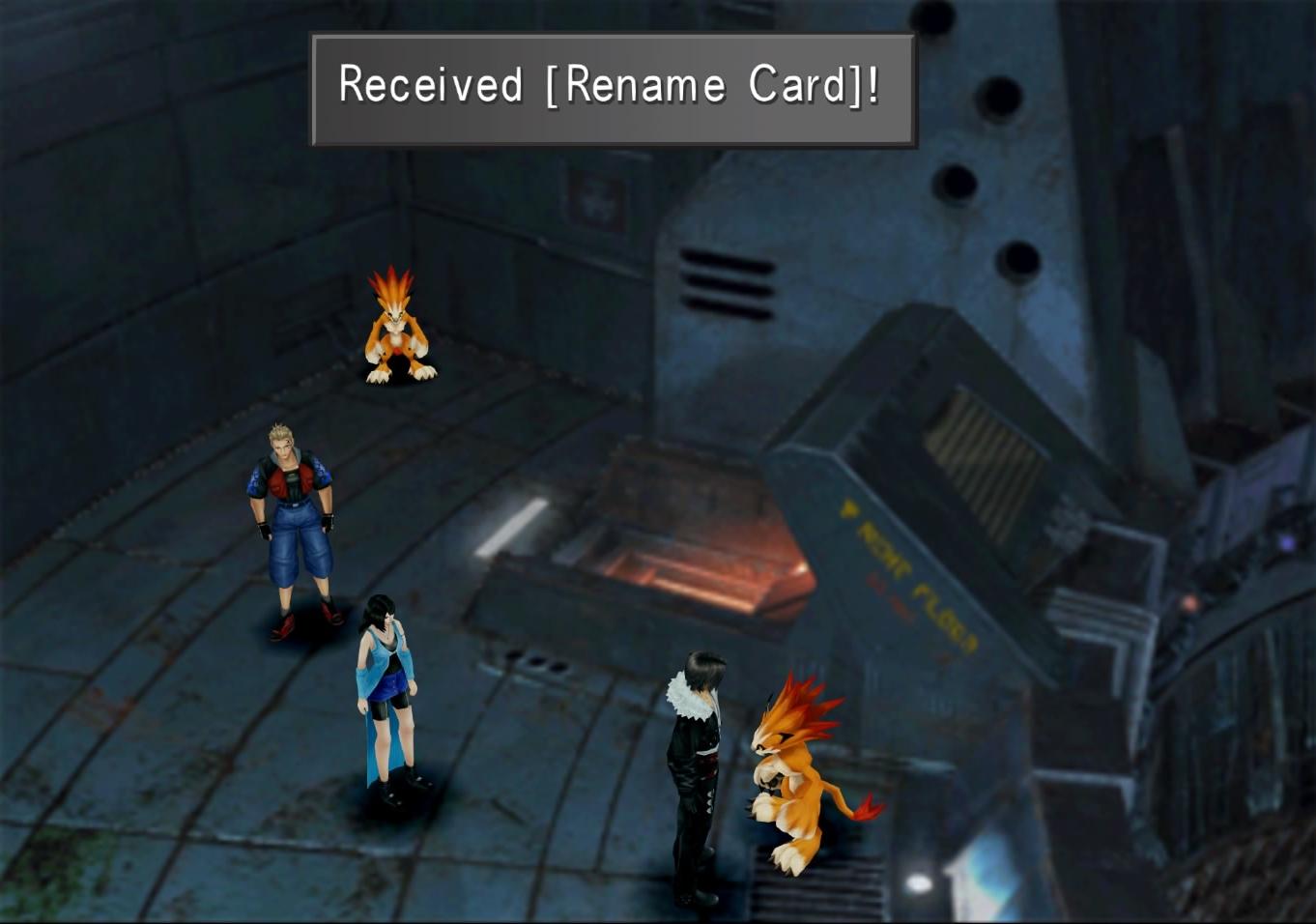 Rename Card