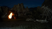 Three Valleys at night from FFXV