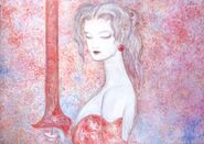 VERY RARE Amano artwork of Terra