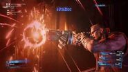 Barret's Fire in the Hole Limit Break from FINAL FANTASY VII REMAKE