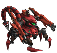 Scorpion Sentinel artwork for FFVII Remake