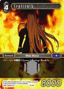 Sephiroth PR-001 from FFTCG Opus