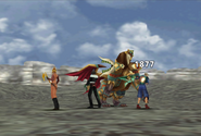 Chimera physical attack from FFVIII Remastered