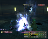 FFX-2 Silence Punch