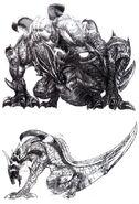 Grendel FFVIII Sketch