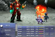 Armored Fiend Flamethrower FFIV ios