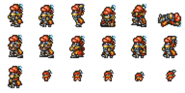 FFRK Gilgamesh sprites