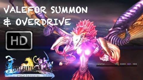 Valefor (summon)/Summon sequences