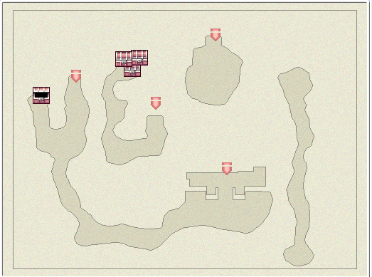 FFIVDS Sylph Cave B3 Map.png