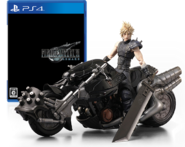 FFVII Remake Japanese package plus figure for PS4