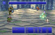 Firion using Cure II from FFII Pixel Remaster