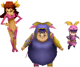 Magus Sisters DS Field Sprites