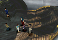 Ellone on the White SeeD Ship from FFVIII Remastered