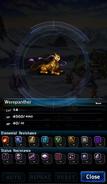 FFBE Werepanther Analyze