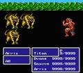 FFIII NES Earthquake